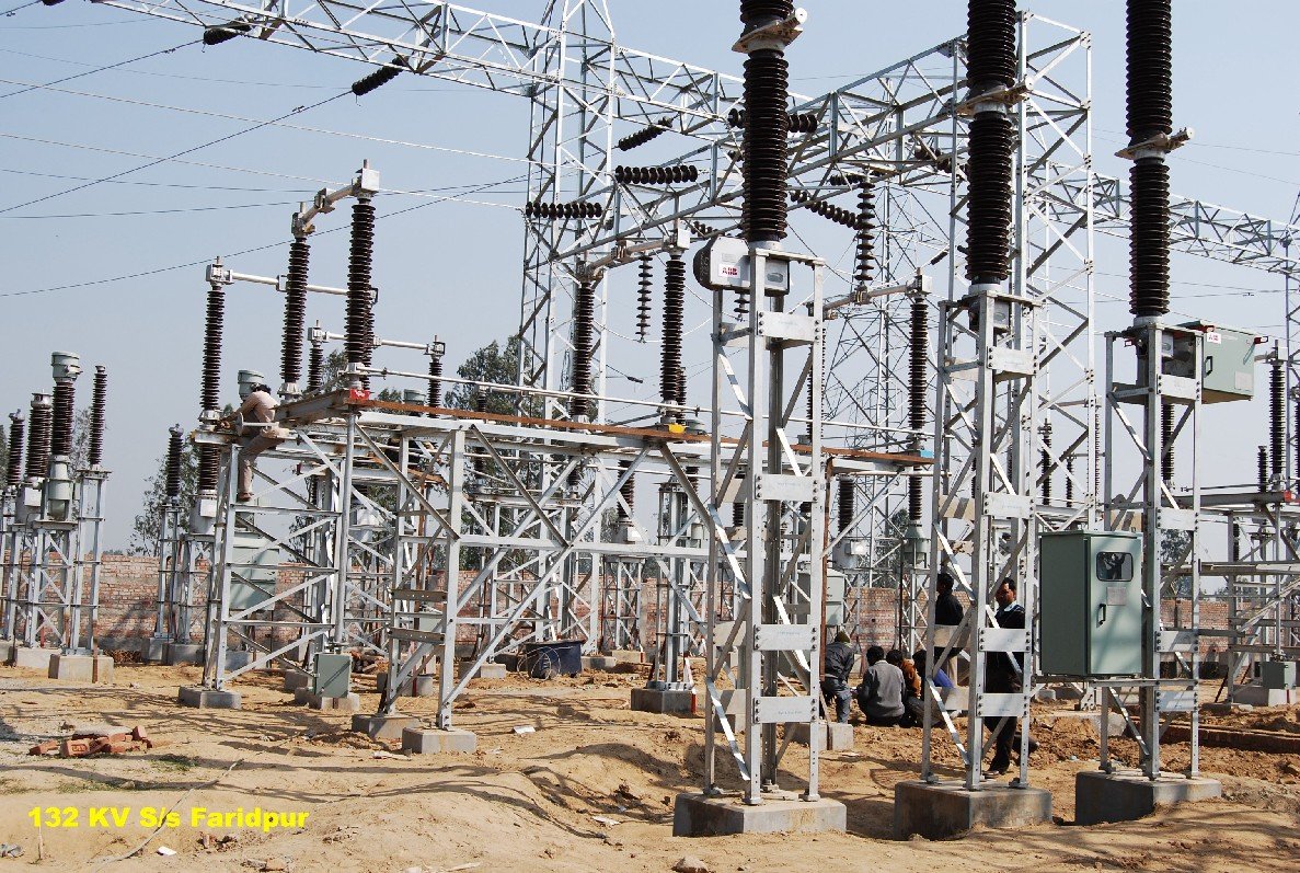 Electrical transmission distribution projects for Substation design